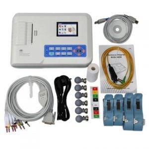 Dijital Yorumlu 3 Kanallı EKG Cihazı