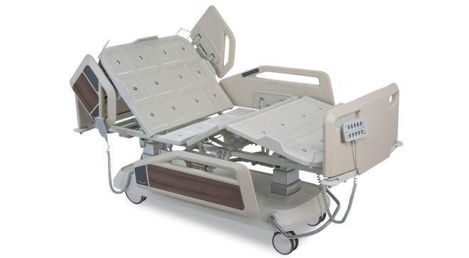 5 Motorlu Lateral Hareketli Hasta Karyolası