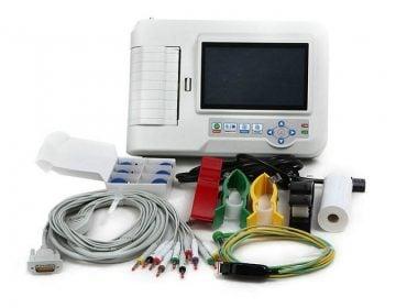 6 Kanallı Yorumlu EKG Cihazı