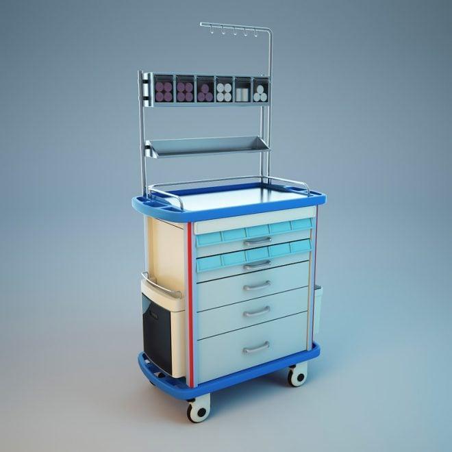 Dijital Kilitleme Sistemli Acil Arabası